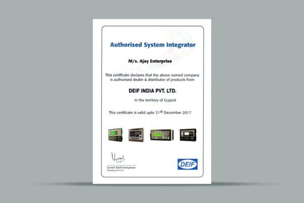 certificate '